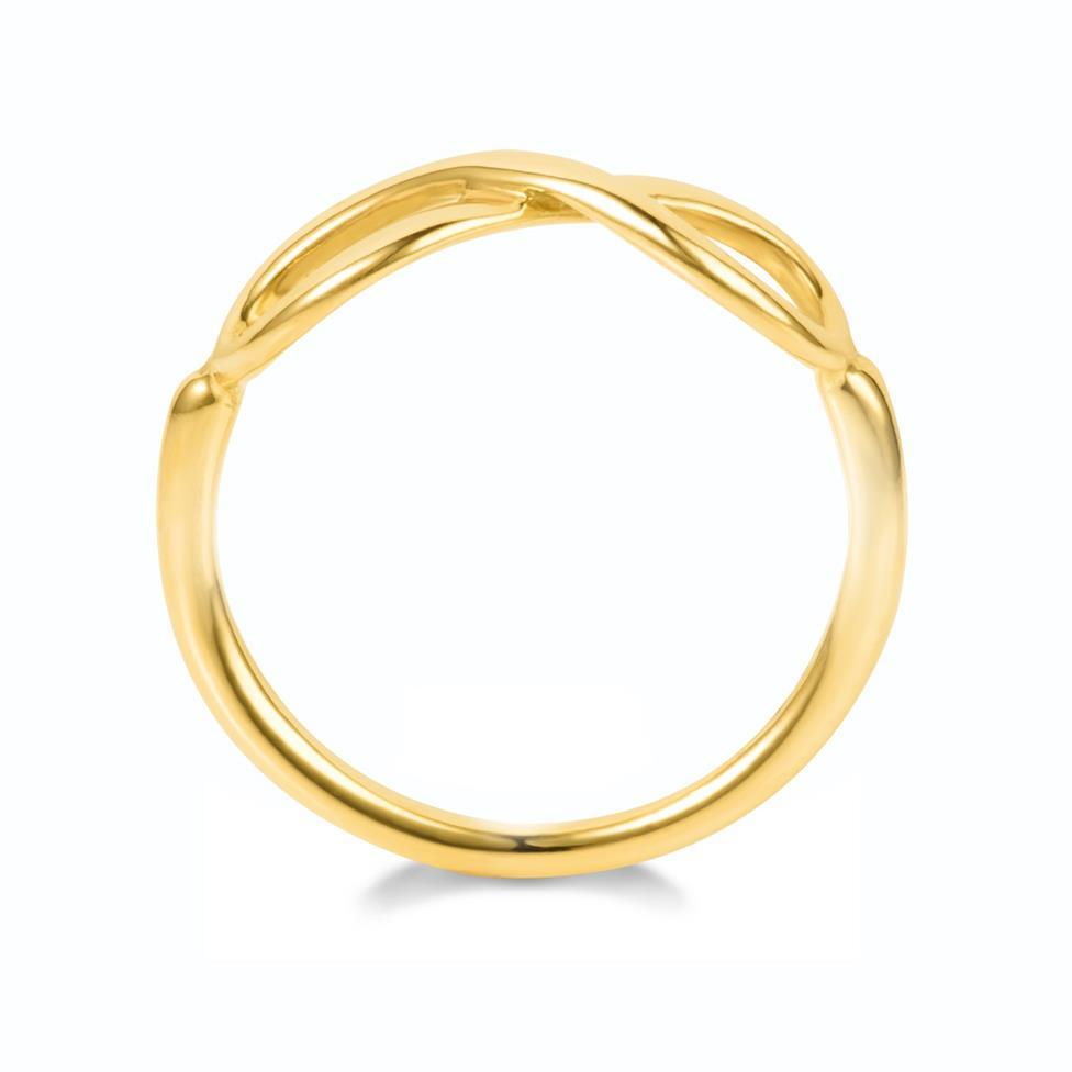 Infinity 18ct Yellow Gold Dress Ring Thumbnail Image 3