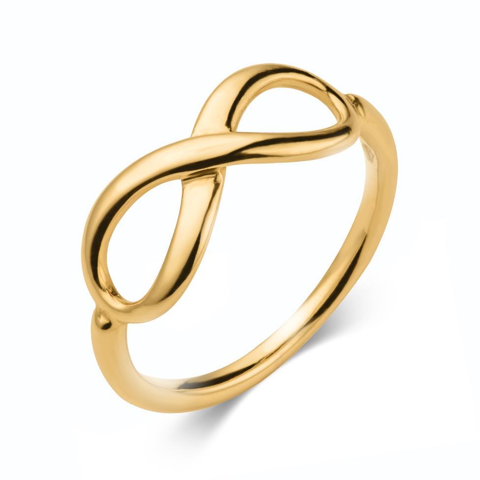 Infinity 18ct Yellow Gold Dress Ring Thumbnail Image 0