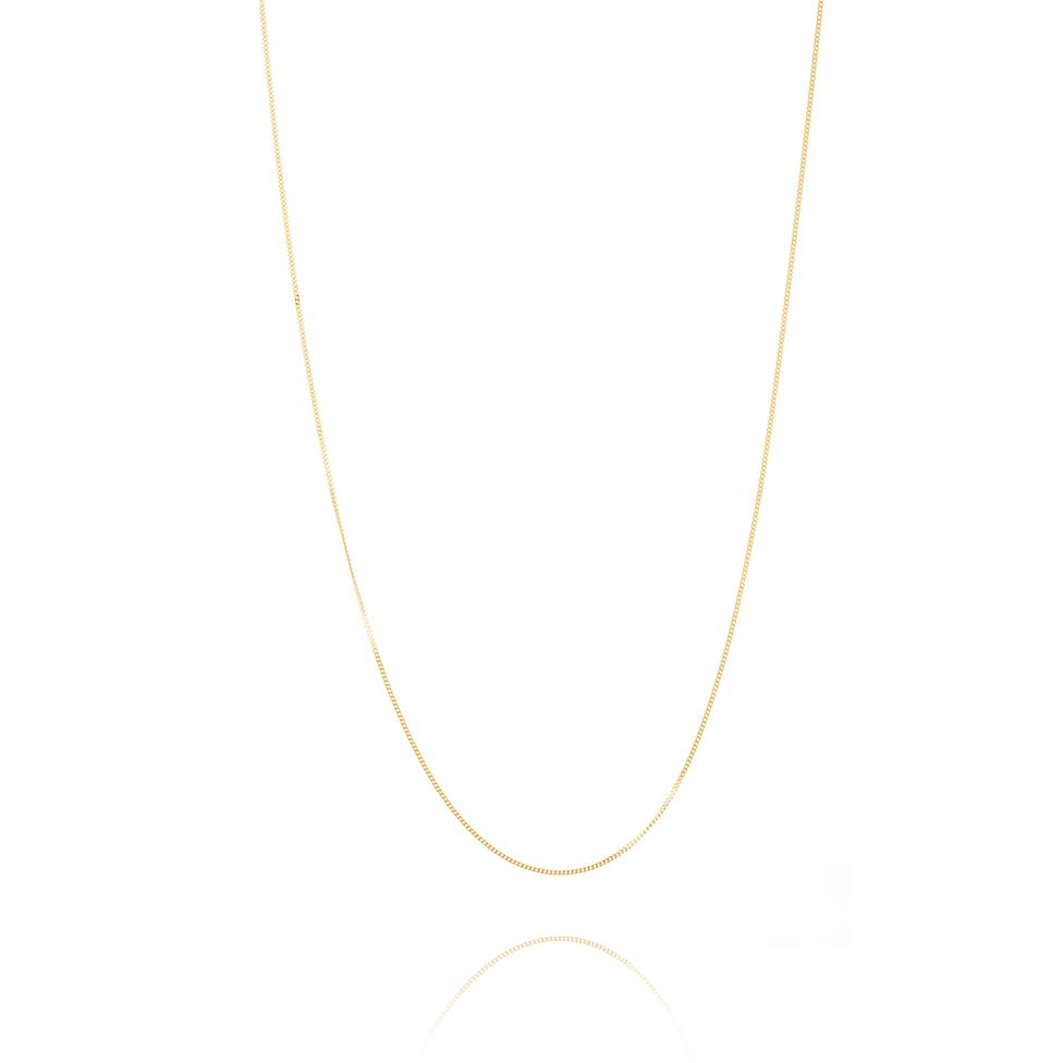 18ct Yellow Gold Curb Chain Thumbnail Image 1