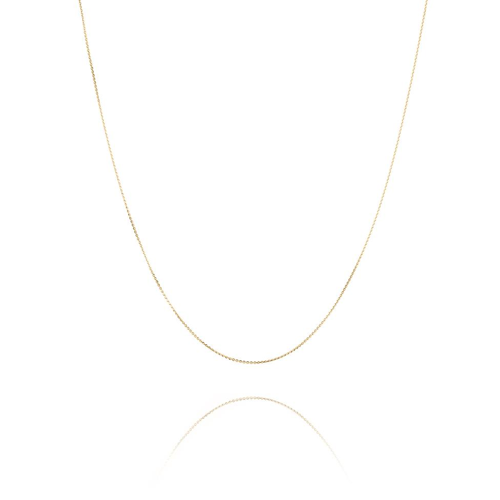 18ct Yellow Gold Trace Chain Thumbnail Image 0