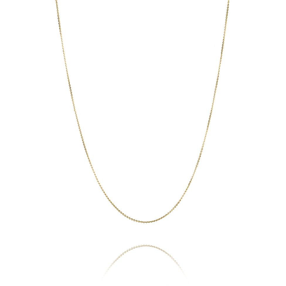 18ct Yellow Gold Trace Chain Thumbnail Image 1