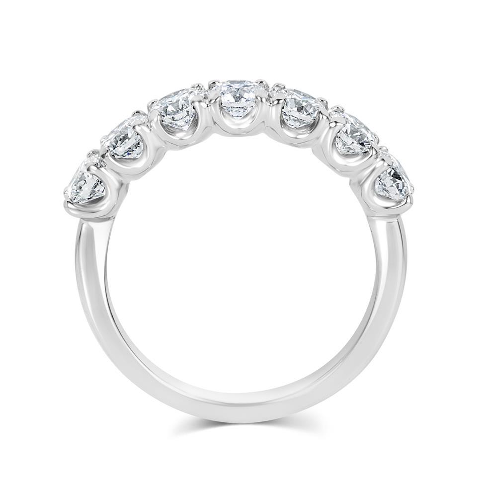 Platinum Diamond Half Eternity Ring 1.50ct Thumbnail Image 2