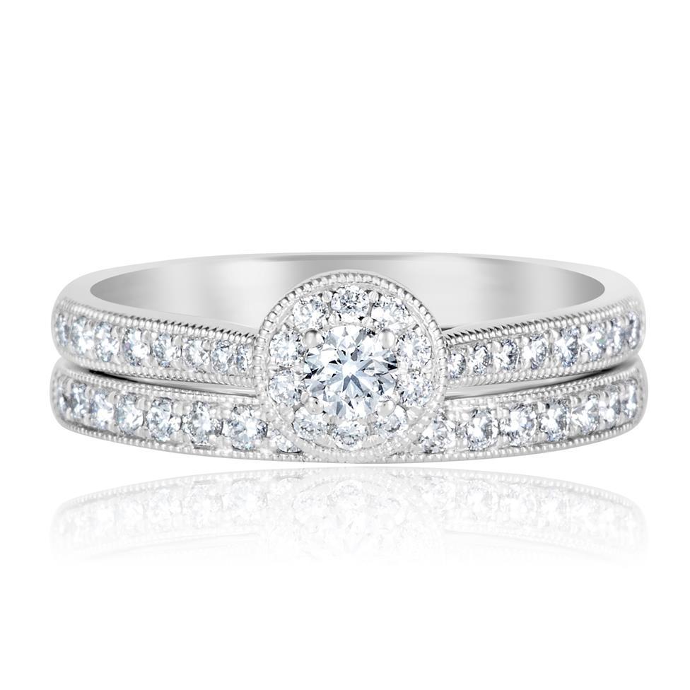 Platinum Diamond Half Eternity Ring 0.20ct Thumbnail Image 4