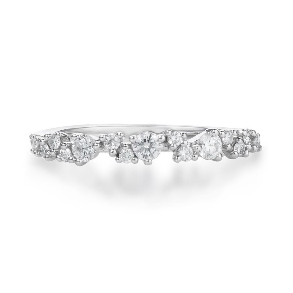 18ct White Gold Diamond Dress Ring 0.33ct Thumbnail Image 1