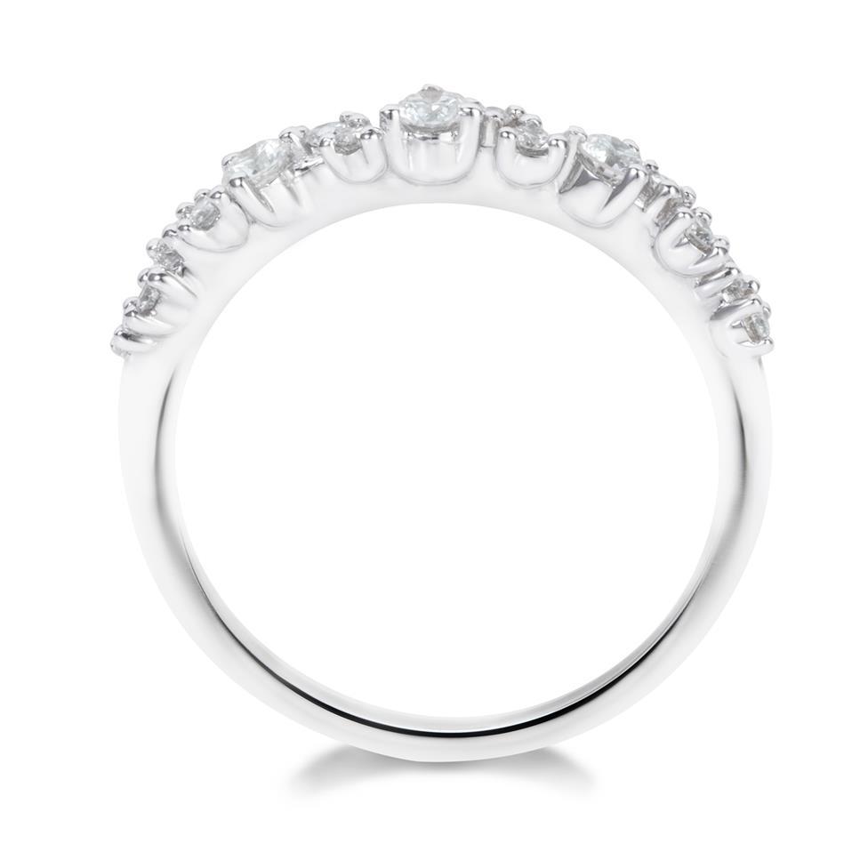 18ct White Gold Diamond Dress Ring 0.33ct Thumbnail Image 2