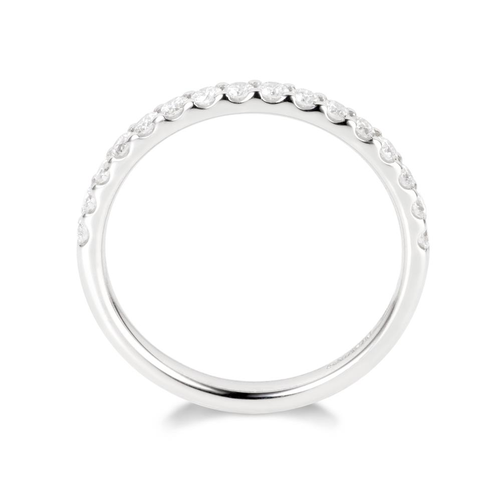 Platinum Diamond Half Eternity Ring 0.33ct Thumbnail Image 1