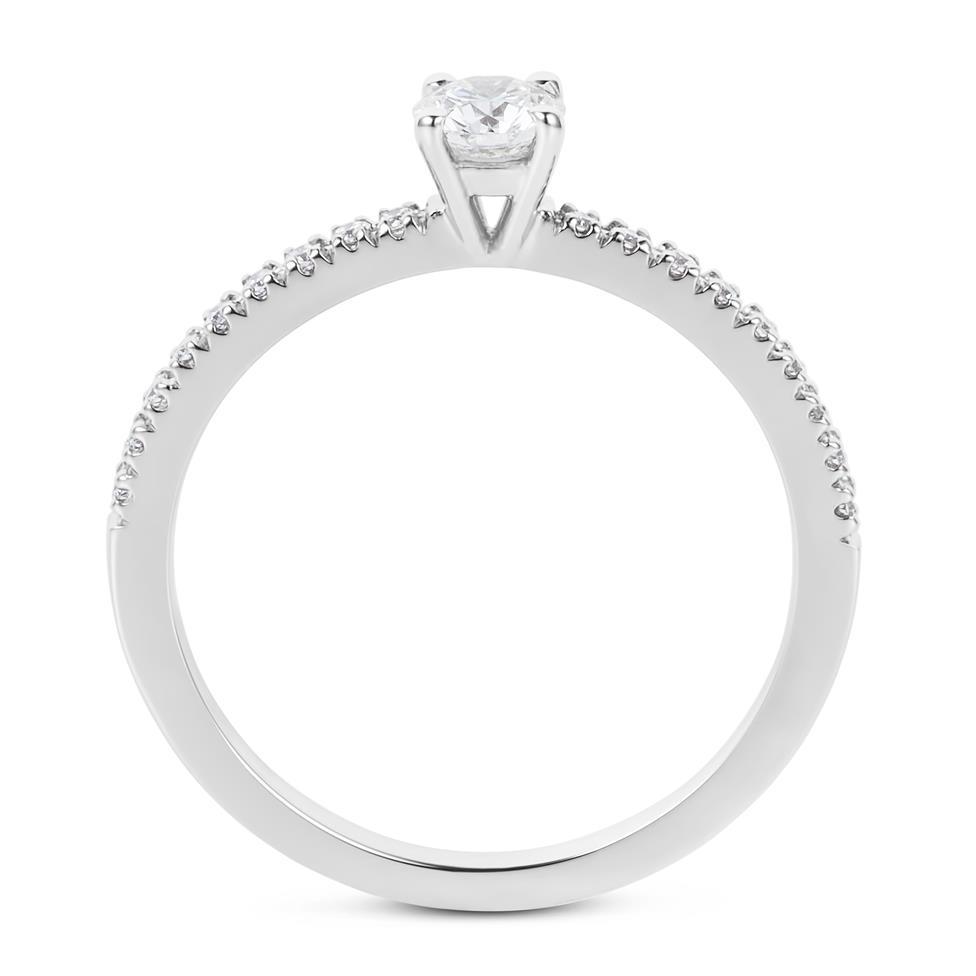 Platinum Diamond Solitaire Ring Thumbnail Image 2