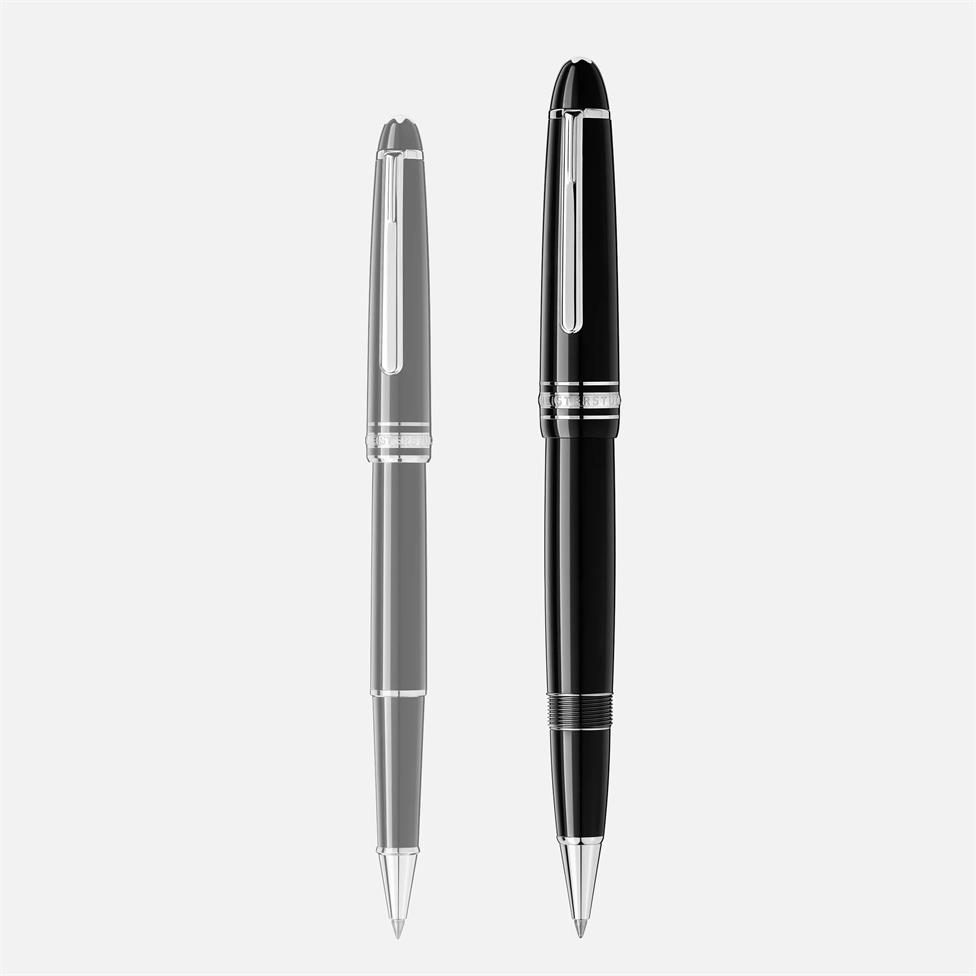Montblanc Meisterstuck Platinum-Coated LeGrand Rollerball Pen Thumbnail Image 3