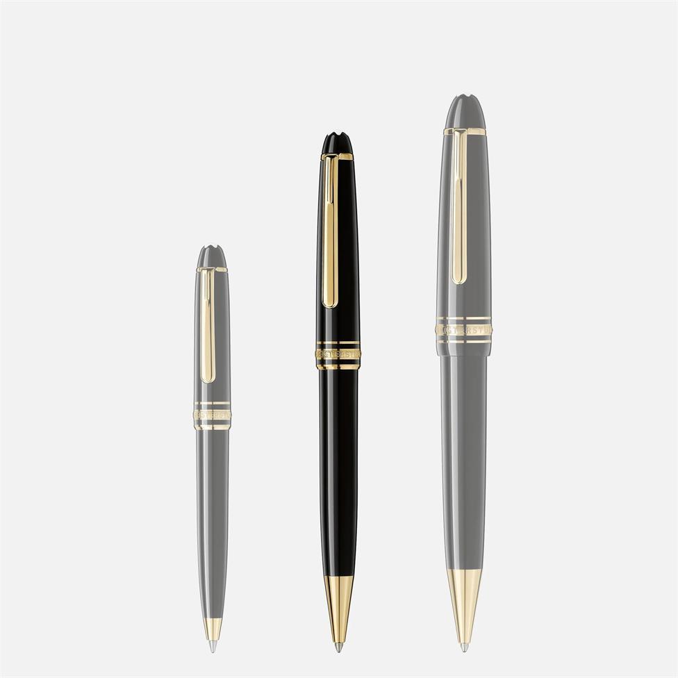 Montblanc Meisterstuck Gold-Coated Classique Ballpoint Pen Thumbnail Image 3