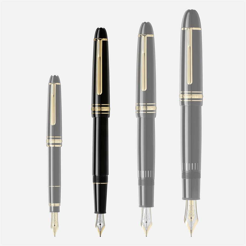 Montblanc Meisterstuck Gold-Coated Classique Fountain Pen Thumbnail Image 3