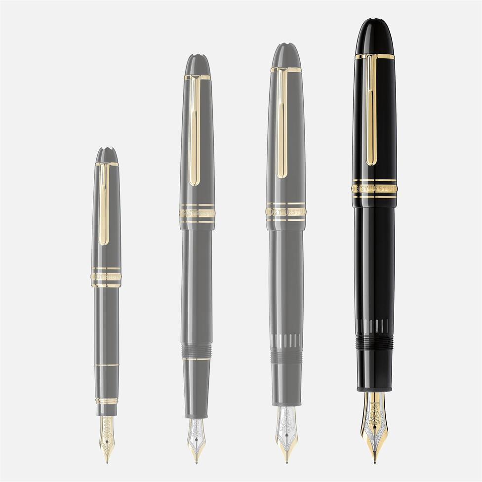 Montblanc Meisterstuck Gold-Coated 149 Fountain Pen Thumbnail Image 4