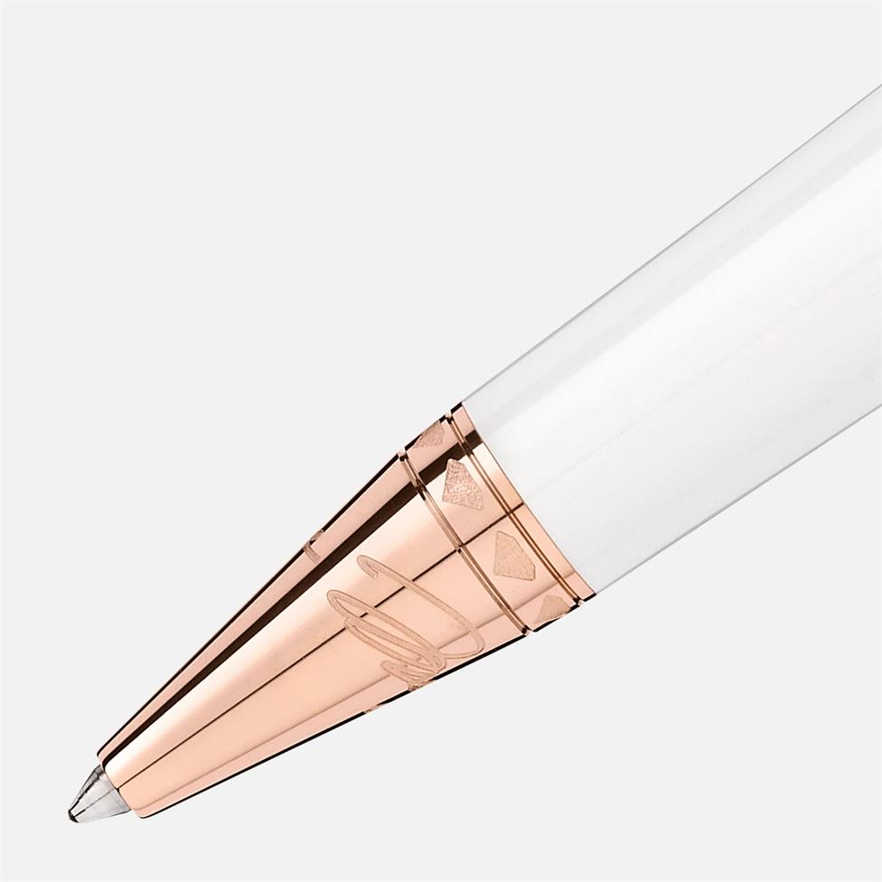 Montblanc Marilyn Monroe Special Edition Pearl Ballpoint Pen Thumbnail Image 1
