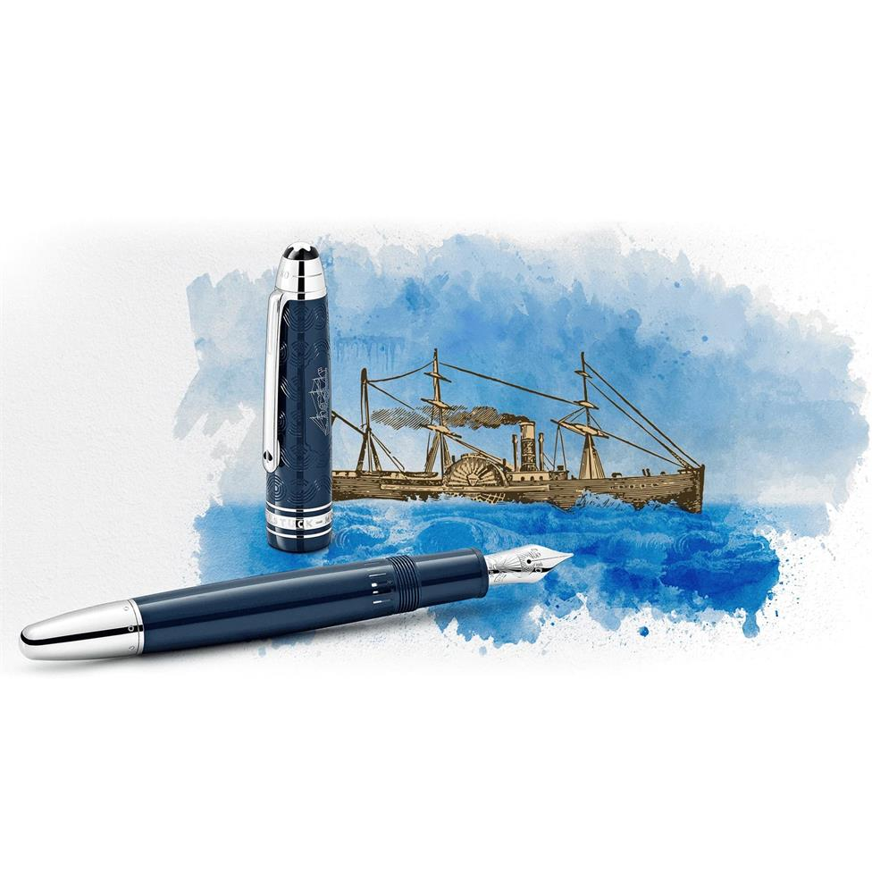 Montblanc Meisterstuck Around the World in 80 Days Classique Fountain Pen Thumbnail Image 2