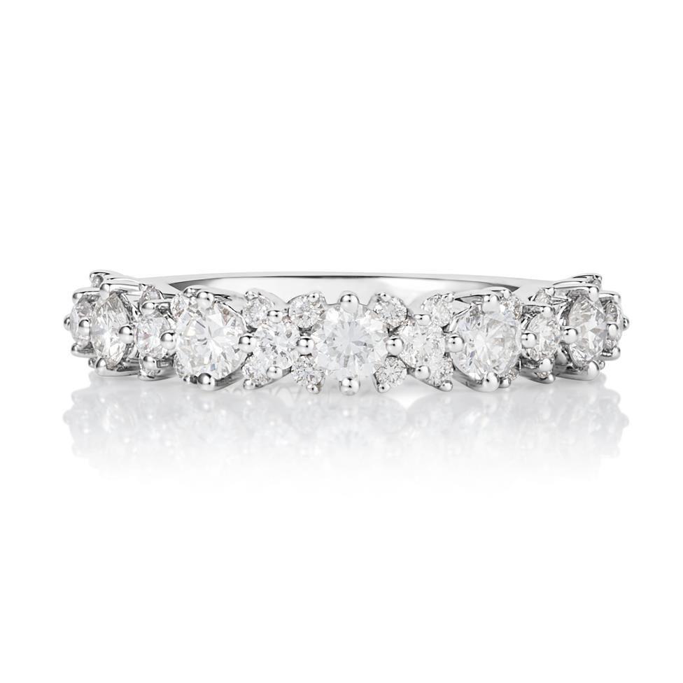 18ct White Gold Diamond Dress Ring 0.75ct Thumbnail Image 1
