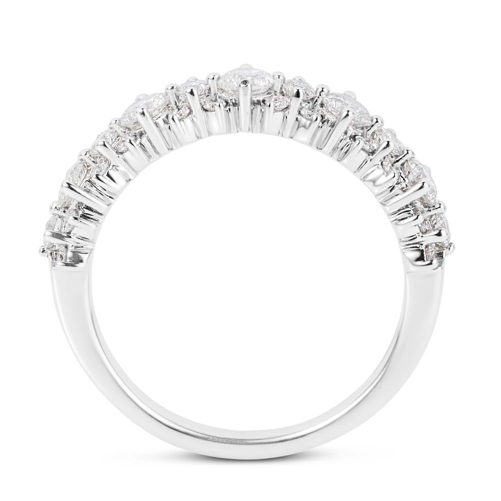 18ct White Gold Diamond Dress Ring 0.75ct Thumbnail Image 2