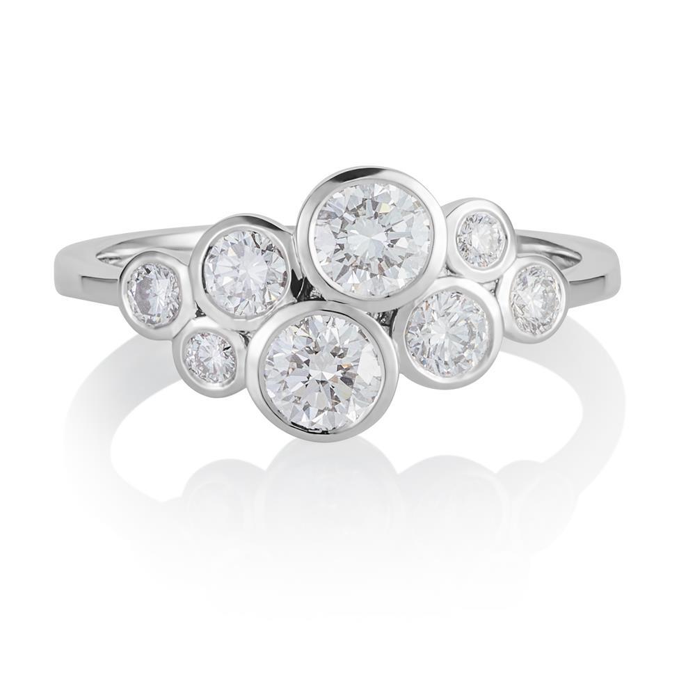 Alchemy 18ct White Gold Diamond Dress Ring 0.85ct Thumbnail Image 0
