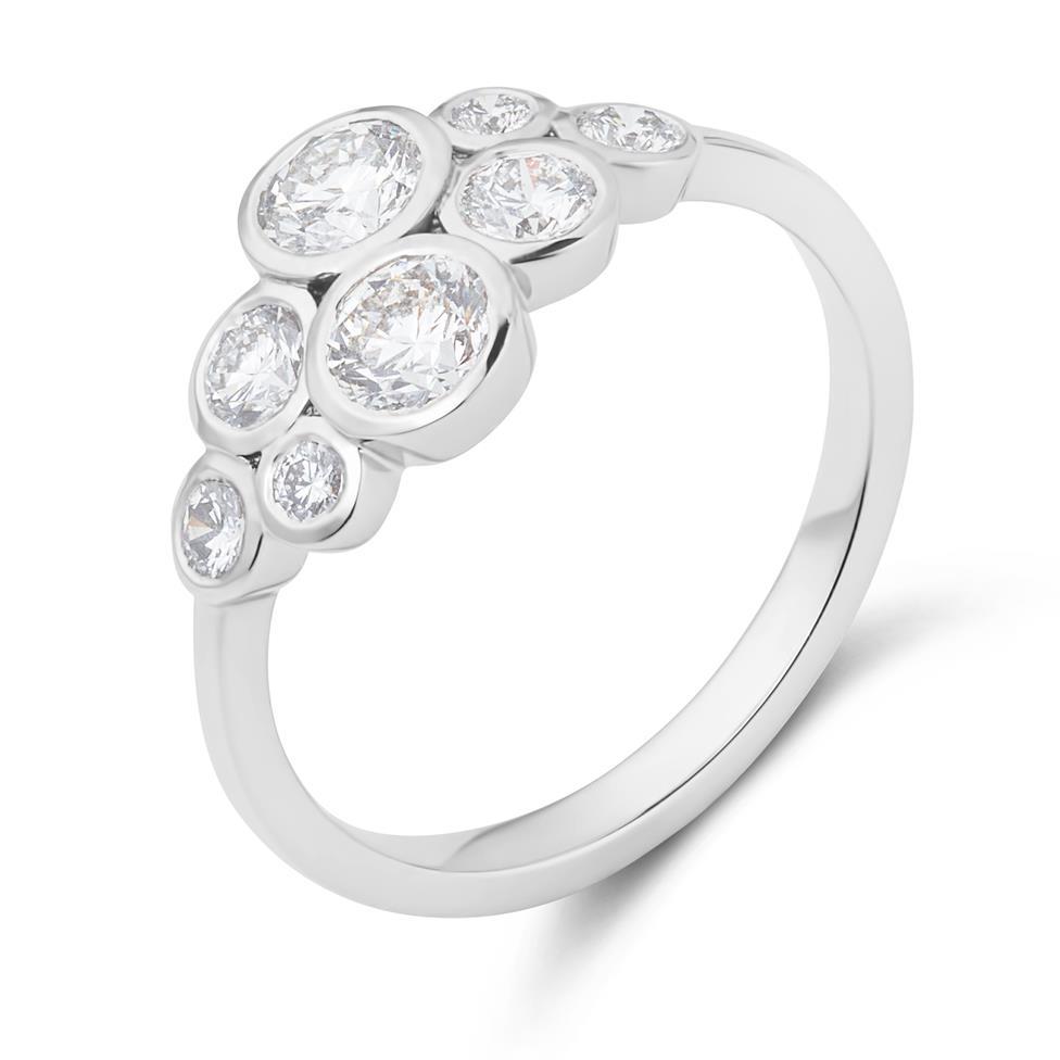 Alchemy 18ct White Gold Diamond Dress Ring 0.85ct Thumbnail Image 1