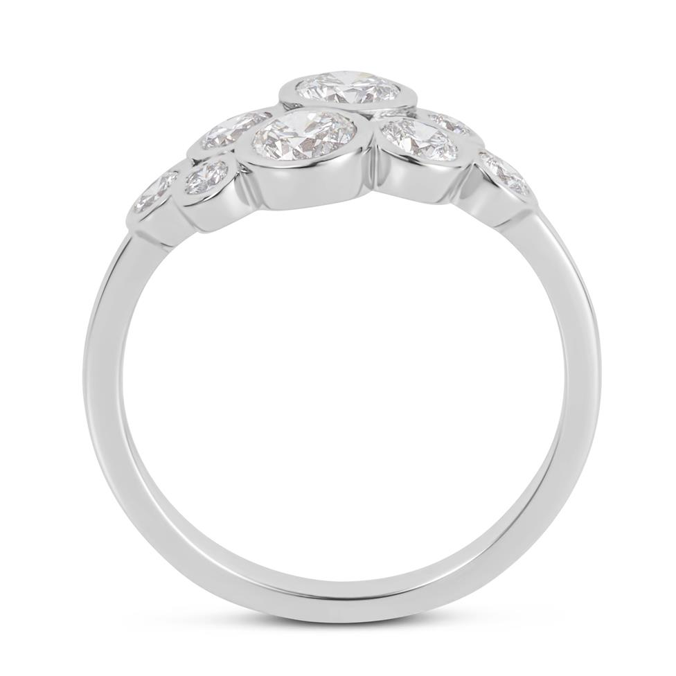 Alchemy 18ct White Gold Diamond Dress Ring 0.85ct Thumbnail Image 2