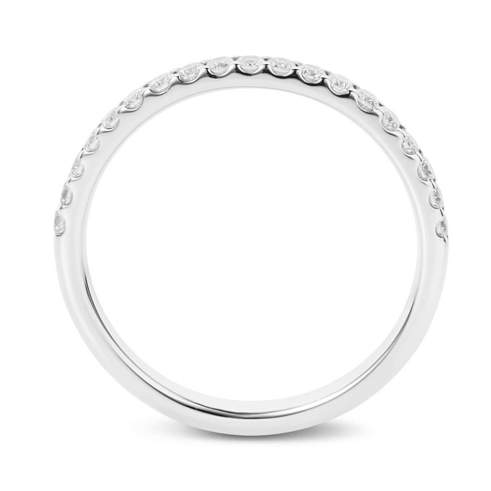 Platinum Diamond Half Eternity Ring 0.23ct Thumbnail Image 3