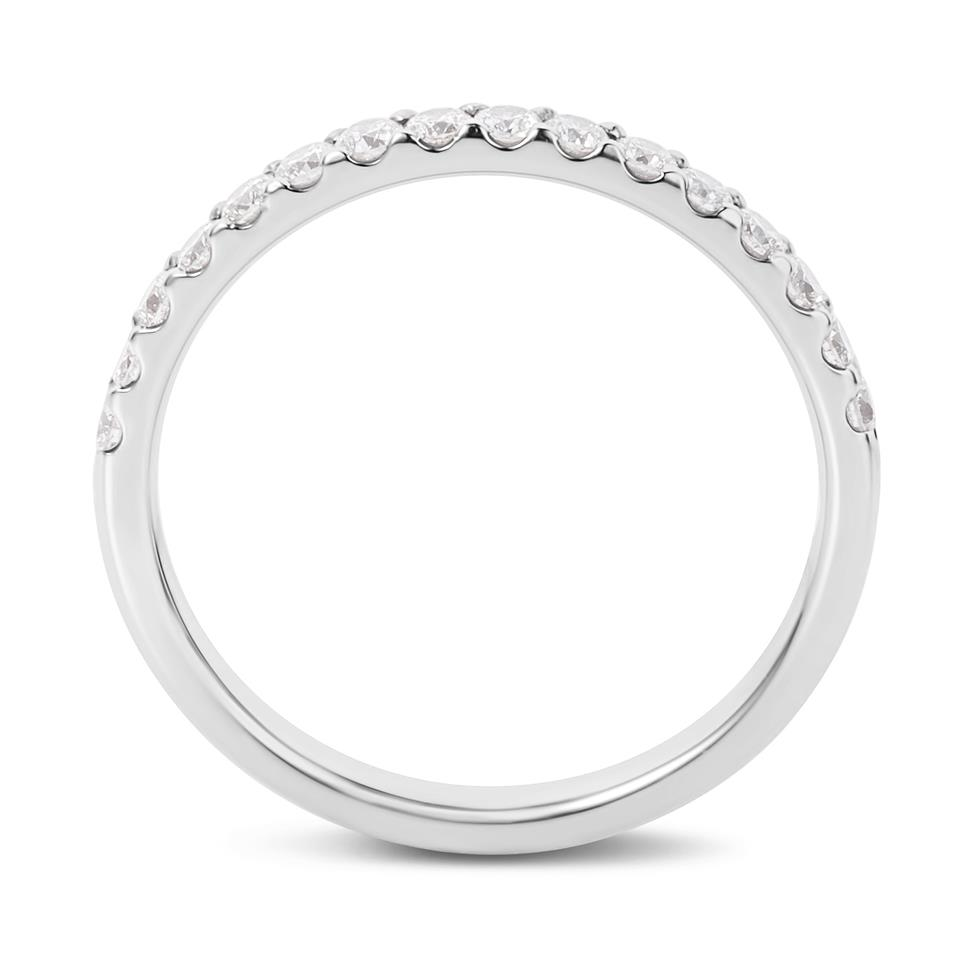 Platinum 0.33ct Diamond Ring Thumbnail Image 2