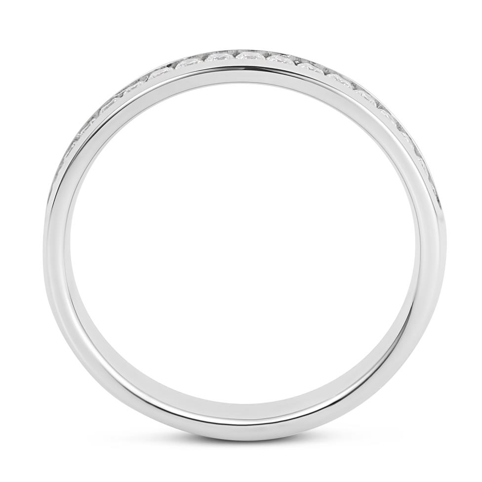 Platinum Diamond Half Eternity Ring 0.23ct Thumbnail Image 2