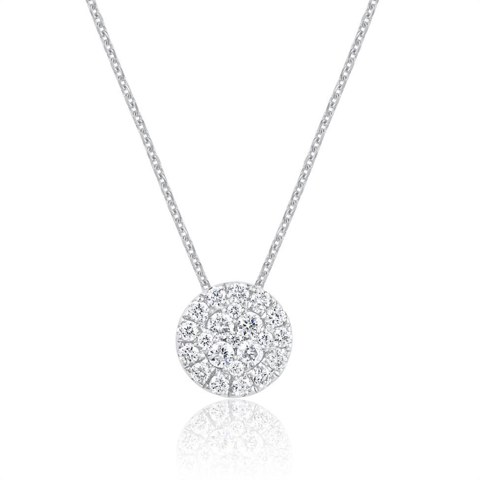 Adore 18ct White Gold Diamond Pendant  Thumbnail Image 0