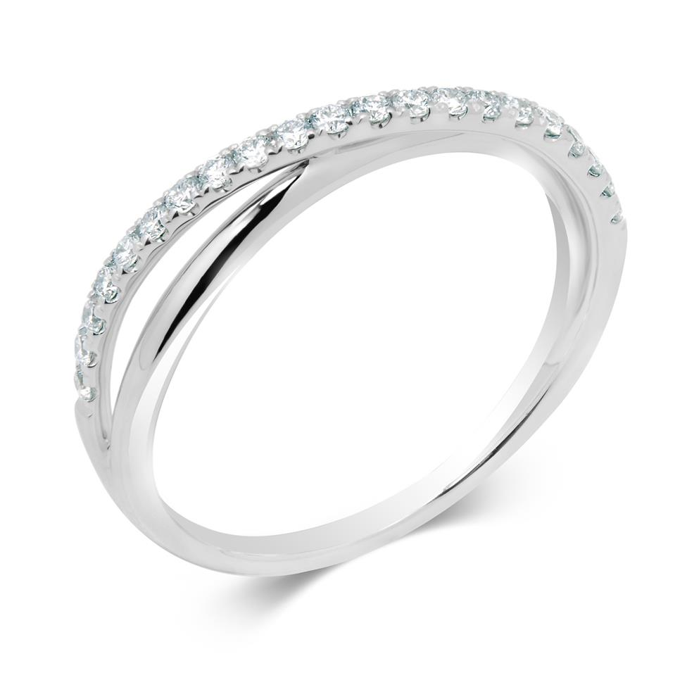 18ct White Gold Diamond Ring Thumbnail Image 0