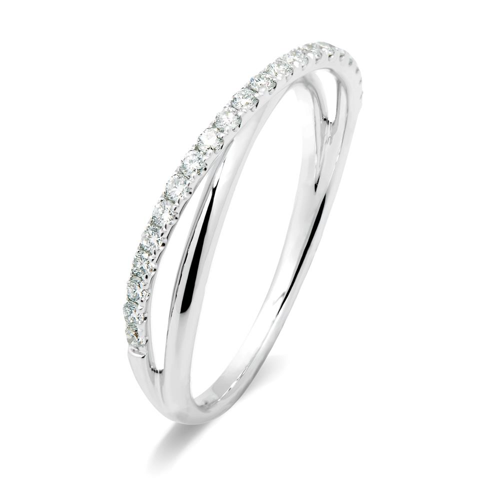 18ct White Gold Diamond Ring Thumbnail Image 2