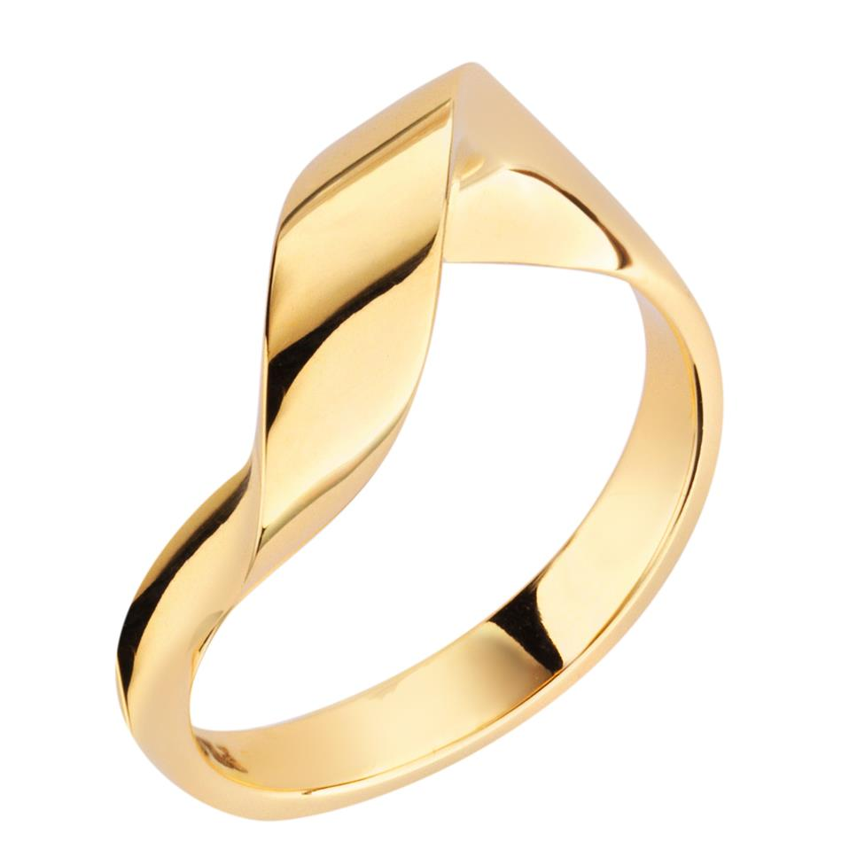 Flamenco 18ct Yellow Gold Ring Image 1