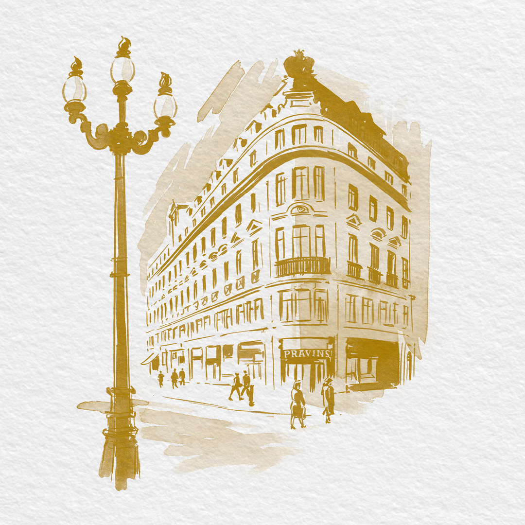 Regent Street Illustration