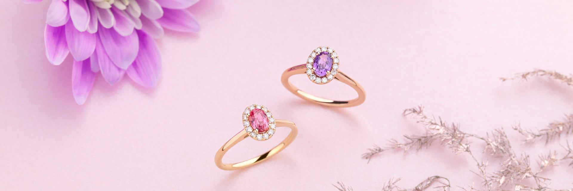 COLOURFUL GEMSTONES TO ADD A SWEET AND PRECIOUS TOUCH.